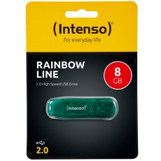 Intenso Rainbow Line 8GB USB Drive 2.0 grün