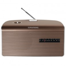 Grundig Music 60 Radio brown/silve