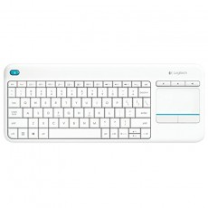 Logitech K400 Plus Touch weiß