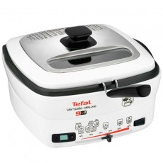 Tefal FR4950 Versalio Deluxe 9-in-1 Multi-Funktions-Fritteuse weiß