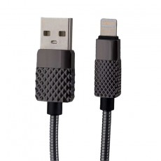 Peter Jäckel USB Data Cable BRILLIANT Lightning Gray