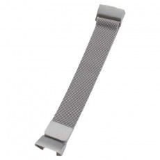 Peter Jäckel Armband für FITBIT CHARGE 3 Edelstahl Milanaise Silver
