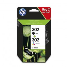 HP 302 Tinte Combo 2-Pack