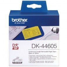 Brother DK44605 Endlosetiketten Papier 62mm x 30.48m gelb