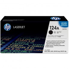 Hewlett-Packard 124A Colour LaserJet Original Toner schwarz