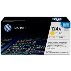 Hewlett-Packard 124A Colour LaserJet Original Toner gelb