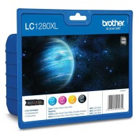 Brother LC1280XLVALBPDR Valuepack