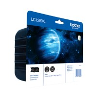 Brother LC1280XLBKBP2DR Twinpack