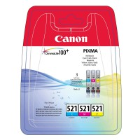 Canon CLI-521 Multipack cyan magenta gelb