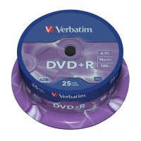 Verbatim DVD+R 4,7GB 25er Pack Spindel