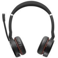 Jabra Evolve 75 UC DUO Bluetooth Headset mit Ladestation