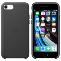 Apple iPhone SE Leather Case MXYM2ZM/A black