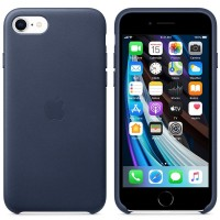 Apple iPhone SE Leather Case MXYN2ZM/A midnight blue
