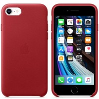 Apple iPhone SE Leather Case MXYL2ZM/A red