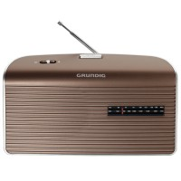 Grundig Music 60 Radio brown/silver