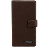 Peter Jäckel Commander Book Case Elite Nubuk Brown für Samsung G955 Galaxy S8 Plus