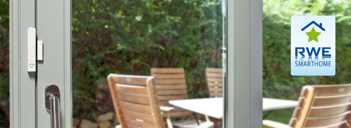 innogy smarthome t r und fenstersensor einbruchsschutz haussteuerung ebay. Black Bedroom Furniture Sets. Home Design Ideas