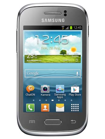 Details zu Samsung Galaxy Young silver S6310N Handy Android 4.1 3,2