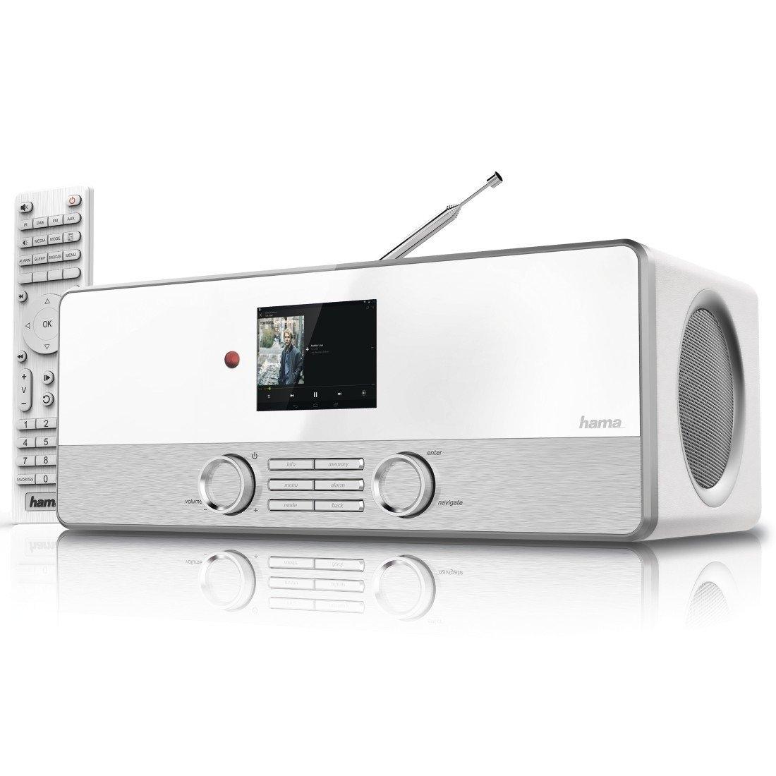"""Hama Digitalradio """"DIR3110M"""" Internetradio/DAB+/FM/Multiroom/App-Steuerung"""