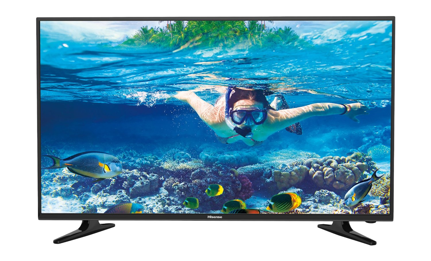hisense lhd32d50ts 80cm 32 zoll led tv fernseher hd. Black Bedroom Furniture Sets. Home Design Ideas