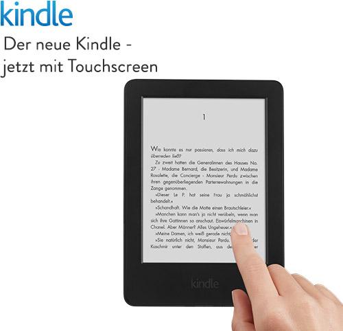 kindle 2014 ebook reader mit wifi und 4gb speicher touch display schwarz ebay. Black Bedroom Furniture Sets. Home Design Ideas