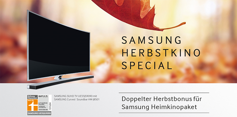 Samsung Herbstkino-Special